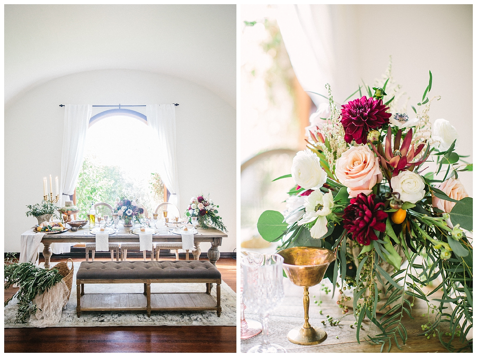 Romantic Tuscan Wedding Inspiration Sammie B Photography